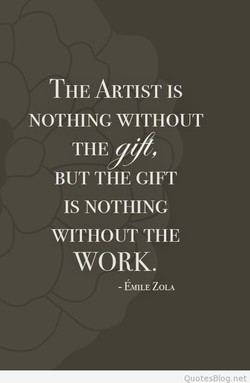 THE ARTIST IS 