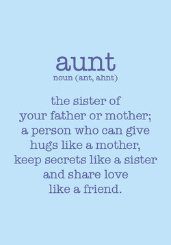 aunt 