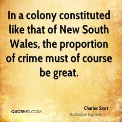 In a colony constituted 