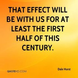 THAT EFFECT WILL