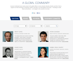 A GLOBAL COMMUNITY 